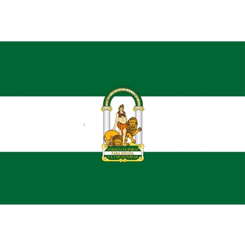 BANDERA ISLAS CANARIAS 150X90CM  ENVIO DESDE ESPAÑA 2-3 DIAS