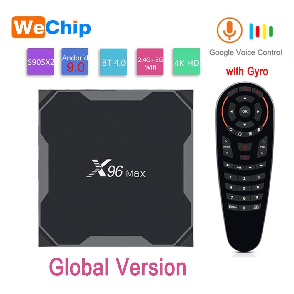 X96MAX Smart Android 9 0 4G 64G TV BOX Amlogic S905X2 LPDDR3 Quad Core Dual Wifi