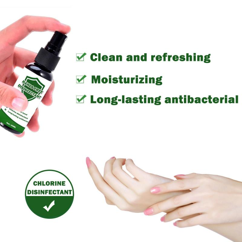 New 1PC 30ML Disposable Hand Sanitizer Spray Disinfection Hand Sanitizers Safe Portable Hand Sanitizer Hot Sale