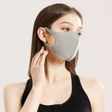 Adult Mask Waterproof 3D Mouth Mask Reusable Anti-PM2.5 Pollution Cover elastic cloth Washable earloop Breathing Face Masks
