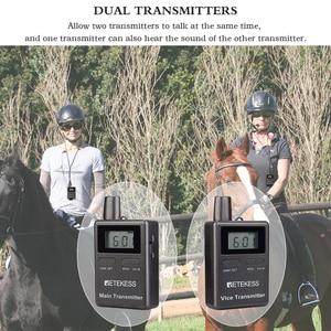 Image 2 - Retekess TT105 2.4GHz אלחוטי משדר מיקרופון סוס רכיבה תקשורת עבור סיור מדריך מערכת מוזיאון הכנסייה תרגום מערכת