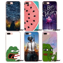 Untuk Oneplus 3T 5T 6T Nokia 2 3 5 6 8 9 230 3310 2.1 3.1 5.1 7 Plus 2017 2018 Yuri On Ice Katak Meme Pepe PUBG Soft Shell Case(China)