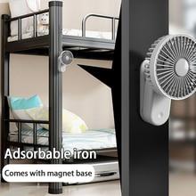 Fan Air-Conditioning Rechargeable Cooling Desktop Usb Mini Summer Clip Magnetic Convenient