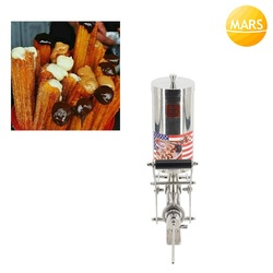 5L Churros Filling Machine Churro Filler Injection Device Cream Sauce Chocolate Jam Dispenser Squeezer In Snack Equipment