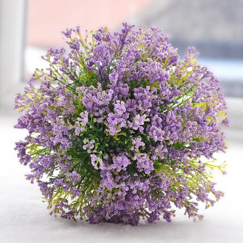 Sweet Home Deco Floral Rustic Wedding Bouquet in Lavender Purple Bridal Bouquet Bridesmaid Bouquet Boutonniere