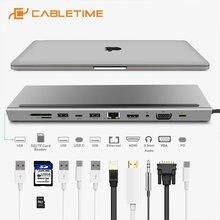Cabletime 2020 Тип c концентратор к локальной сети ethernet