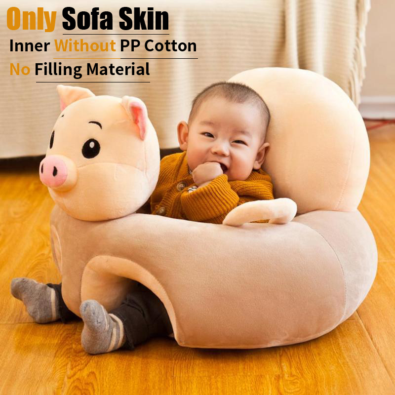 34 Styles Baby Seats Sofa Support Seat Baby Plush Chair Learning To Sit Soft Plush Doll Toys Travel Cartoon Seat Without Fillers