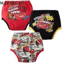 Panties Underwear Newborn Baby-Boys-Girls Cartoon Cotton Training-Pants Car-Pattern Infant