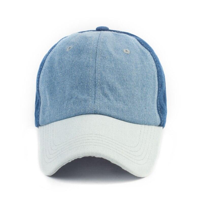 BISONJS 2020 модная разноцветная джинсовая женская бейсболка, новая дышащая Регулируемая Кепка Snapback, летняя хлопковая кепка от солнца