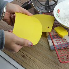 Pastry Cutters Dough-Scraper Spatula Baking-Tool Kitchen-Accessories Fondant Plastic