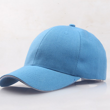 Men's Caps Light Baseball-Caps Spring Summer And Pure-Color