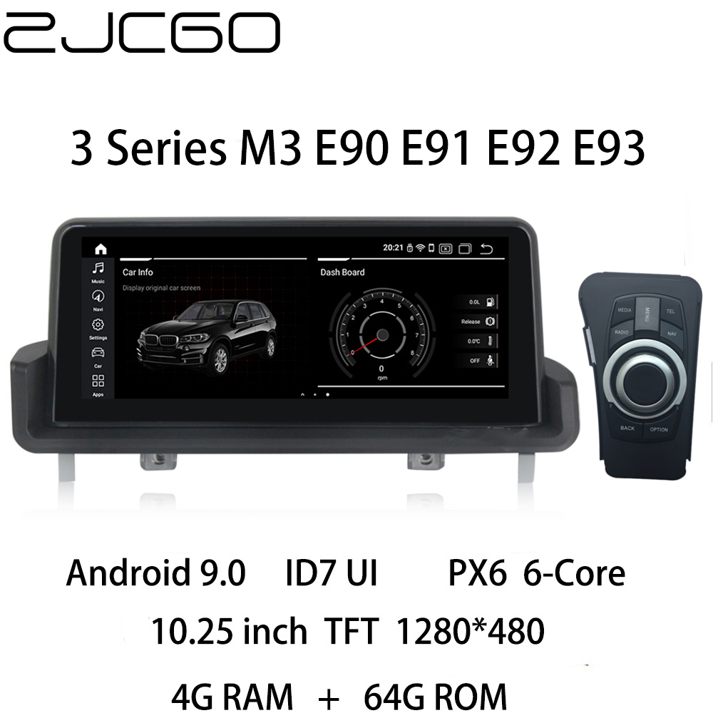 Car Multimedia Player Stereo GPS DVD Radio Navigation NAVI <font><b>Android</b></font> CCC CIC NBT for <font><b>BMW</b></font> 3 Series M3 <font><b>E90</b></font> E91 E92 E93 2004~2013 image