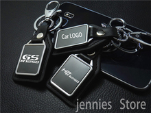 motorcycle leather key ring Keychain Accessories For BMW R1250GS R HP ADV Adventure GSA R1250 GS GSA R 1250 GS Accessories