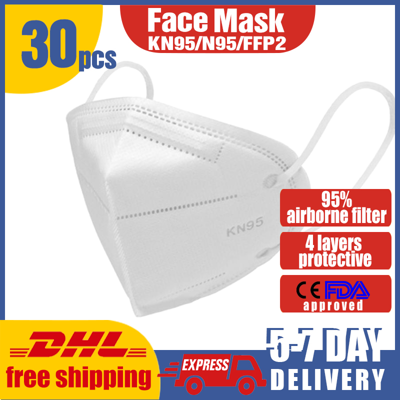 CE Certification Mask 95% Filtration Anti Dust Bacterial  Mask Dustproof PPE Protective Mask Face Mouth Cover Features ppe-a02