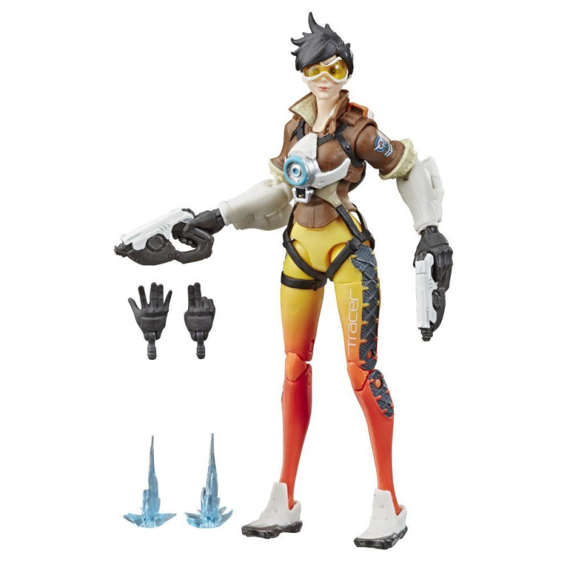 15cm Hasbro Overwatch Tracer Anime characters Action PVC Collection Model Toy Anime Figure Toys For Kids 4