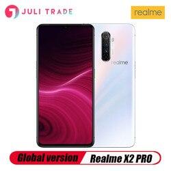 Перейти на Алиэкспресс и купить global version oppo realme x2 pro 8gb 128gb snapdragon 855 plus 64mp quad camera nfc smartphone 50w super vooc fast charger