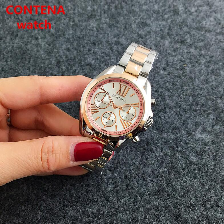 CONTENA Free Shipping  Dress Ladies Watch Woman Wristwatches Reloj Mujer Montre Femme 2019 New Watches