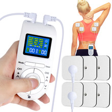 12 Modes Low Frequency Eletric EMS Compex Muscle Massage Stimulator Tens Machine Electrodes Pressotherapy Pad Massager For Body