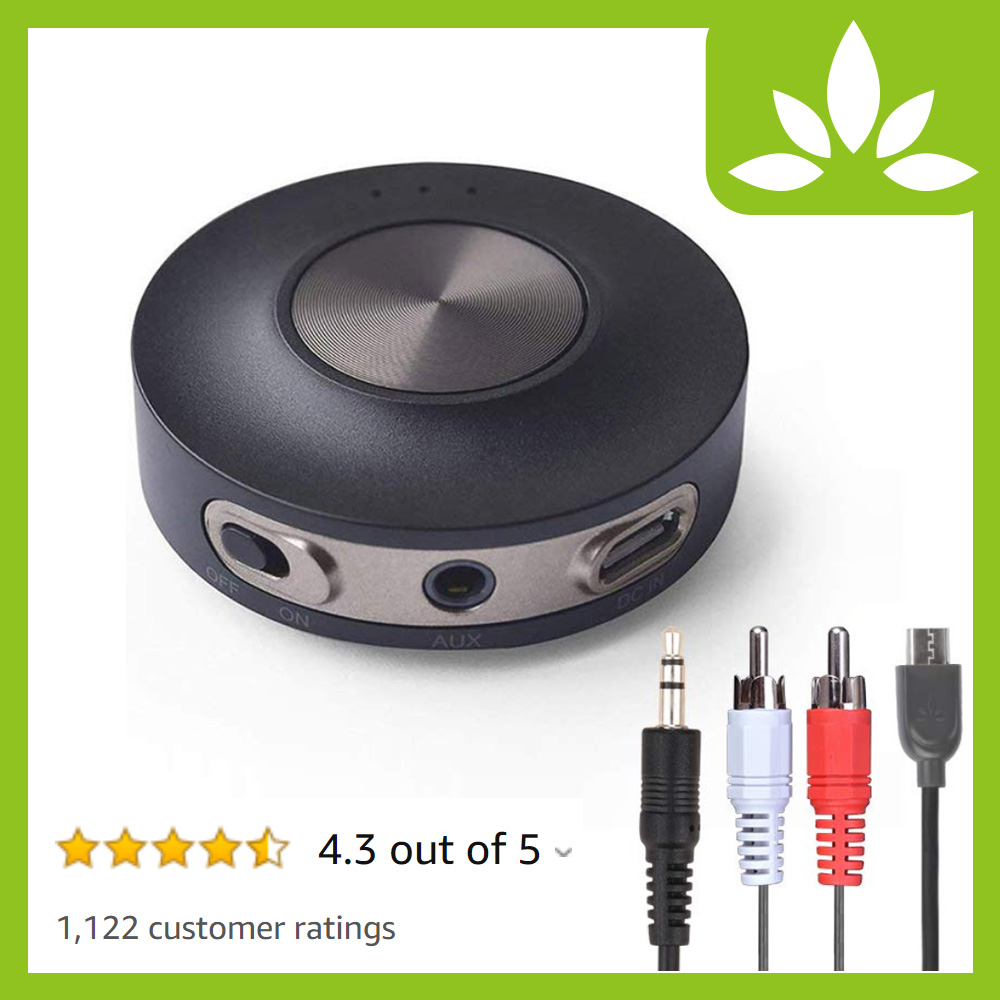 Avantree Bluetooth Transmitter World First Dual link LOW LATENCY Supported Wireless Audio Adapter for TV headphones - Priva III