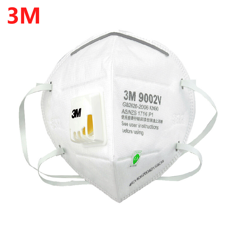 Mouth Mask Anti Dust PM 2.5  3M 9502V N95 Protective Fold Masks Multi Layer Filter Structure Industrial Fog Enviroment 9501V