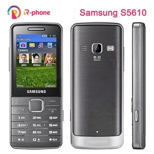 Original Samsung S5610 2G 3G Unlocked Mobile Phone 2.4
