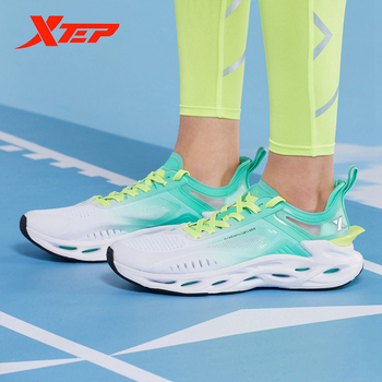 цена на Xtep X-FLOW Men Running Shoe Summer Breathable Sport Men Shoe Sneakers 880219110092