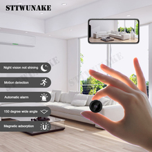 STTWUNAKE Mini cámara wifi, grabadora de voz inalámbrica, IP, hd, secreta, micro, 1080p