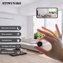 Sttwunakeミニwifiカメラip hd秘密カムマイクロ小 1080 720pワイヤレスvidecamホーム屋外ボイスレコーダー