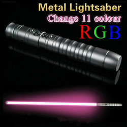 Светильник saber Косплей изменение 11 цветов светильник Luke Saber Jedi Sith Laser Force Fx тяжелый Дуэльный громкий звук