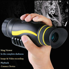 Outdoor Infrared 4X Night Vision Monocular Handheld Optical Telescope Multifunction Tools ALS88