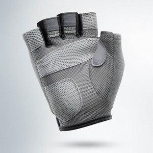 Image 5 - Youpin XQIAO 1 זוג חצי אצבע כושר קל משקל כפפות כושר לנשימה יבש החלקה ספורט תרגיל אימון משקולות