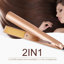 automatic hair curler Straight five light volume straight dual-use explosion models portable rods roll