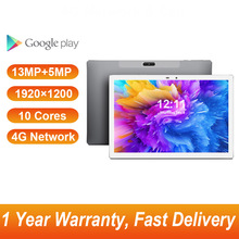 4G Phablet 10.1 Inch Tablets Android 8.0 1920x1200 Gaming Tablet PC MT6797 Deca Core GPS 13MP+5MP Camera