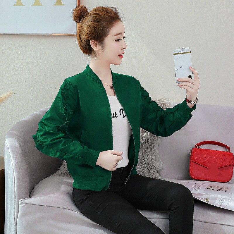 New Fashion Mini-jacket/Women's Short Baseball Suit/ Spring and Autumn feminino