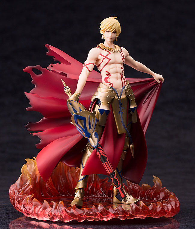 Original Figure Fate/Grand Order Gilgamesh MT 25CM Quality Action Figure Collection Toys For Christmas G099