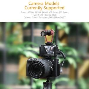 Image 5 - UURig Vlog Macchina Fotografica Dello Schermo di Vibrazione Staffa Per Selfie Mirrorless Camera Periscopio Soluzione Per Sony A6500/6300/A7M3 A7R3 nikon Z6/Z7