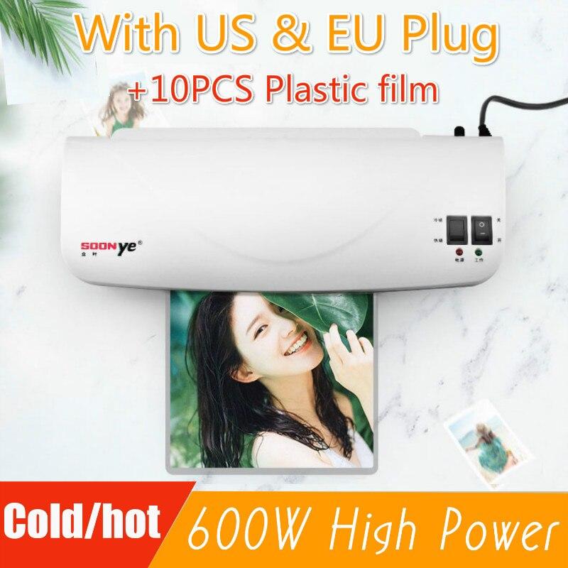 Profesyonel termal ofis sıcak ve soğuk laminasyon makinesi için A4 belge fotoğraf Blister ambalaj plastik folyo rulosu laminar