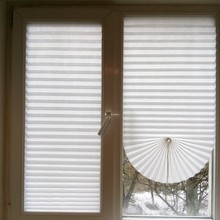 Curtain Blind-Roller Adhesive Shades Window-Pleated Balcony Blackout Bedroom Living-Room