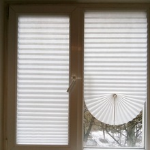 Cheap Adhesive Window Pleated Zebra Blinds And Shades Blind Roller Blackout Curtain For Bedroom Living Room Balcony