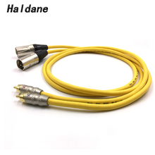 high quality pro audio 16 channel stage snake cable with 16 xlr combo jack box 50m Haldane Pair SNAKE-1 RCA to XLR Balacned Audio Cable RCA Male to XLR Male Interconnect Cable with VDH Van Den Hul 102 MK III