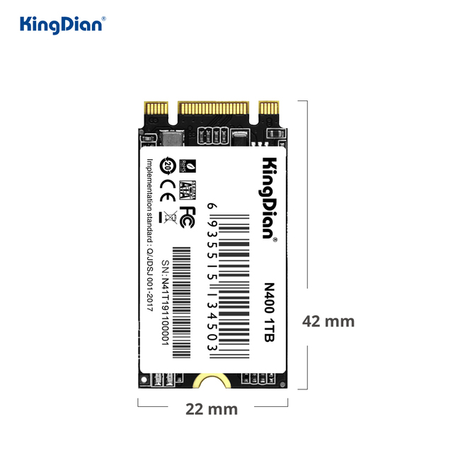 KingDian ssd m2 2242 1tb 512gb NGFF M2 SSD SATA 120GB 240gb 32GB 60GB 64GB HDD 2242mm Hard Drive for laptop Jumper 3 pro