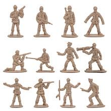 Figura de soldados militares de plástico, modelos del ejército, accesorios, 360 unids/set, 1/72