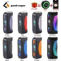 Free gift !!! New Original 100W Geekvape Aegis Solo MOD with Latest AS Chipset E cig Vape TC Box Mod VS Drag 2/ Luxe Mod