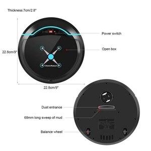 Image 3 - Robô aspirador de pó automático, limpador automático para casa elétrico recarregável varredura inteligente de sujeira de chão pó cabelo