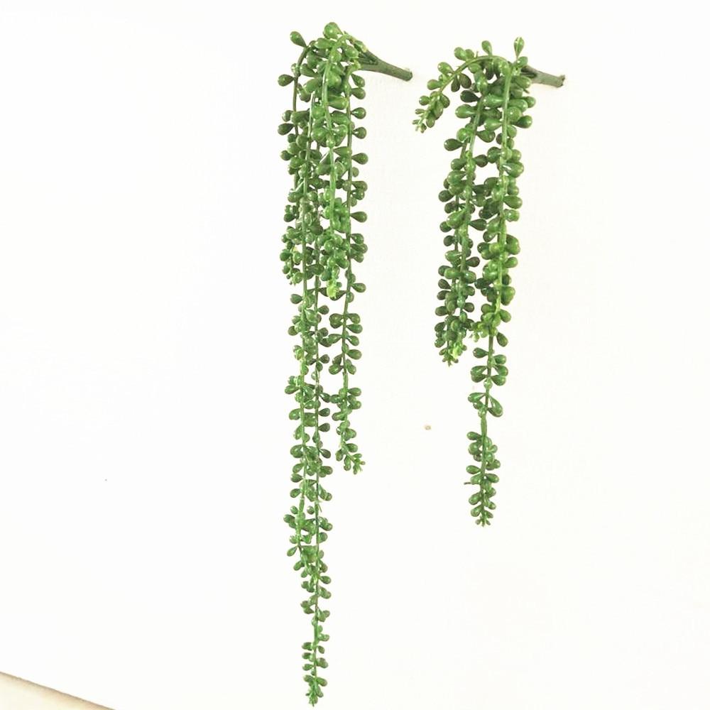 Украшения для дома, сада, настенные растения, искусственные цветы, веревка из искусственной кожи, настенные подвесные суккуленты растений, аксессуары для цветочных композиций|Искусственные растения|   | АлиЭкспресс