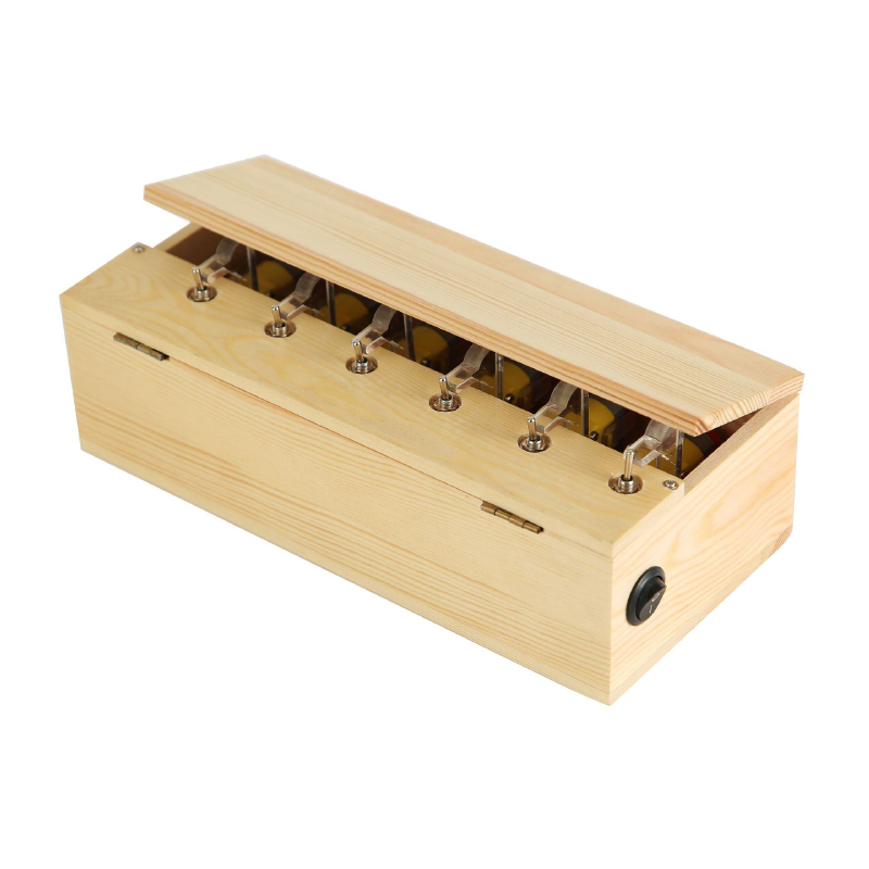 Useless Box Wooden Electronic Useless Box Fully Assembled Toy For Children Birthday Gift interactive Funny Toys