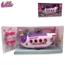 LOL Surprise Doll Original lols dolls Surprise Airplane Toys Anime Figures Plane Model Collection DIY Birthday Gifts for Girl