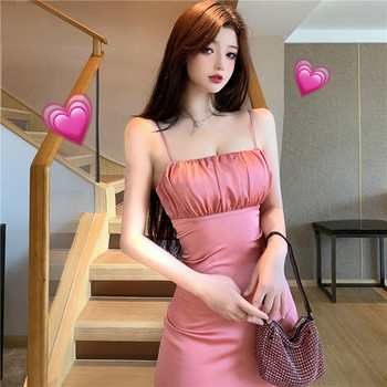 Summer new fashion sexy ladies strapless mini strap dress 2020