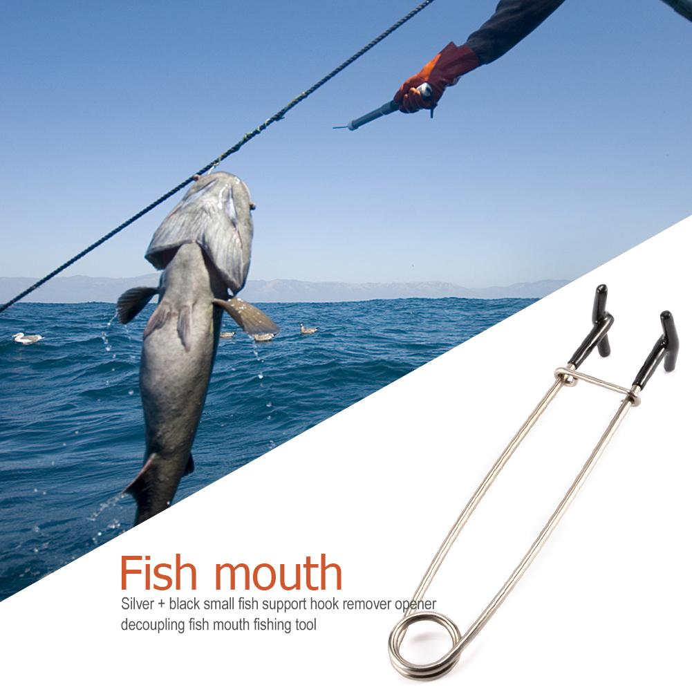 Fishing Decoupling Device Fish Mouth Opener Stainless Steel Spreader Piler