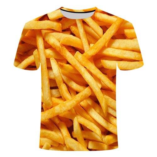 Летняя футболка с 3D принтом в виде пива, покера, для мужчин и женщин, забавная Новинка, футболка с круглым вырезом и коротким рукавом, топы, модные уличные мужские футболки - Цвет: TX015